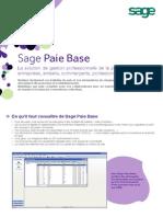 Sage Paie Base