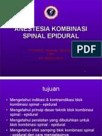 2 Anestesia Kombinasi Spinal Epidural Cpd 2012