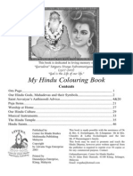 Hindu Colouring Book for Children