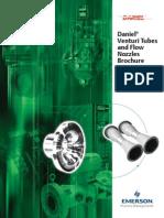 Venturi Tubes AndFlowNozzles Prod Brochure