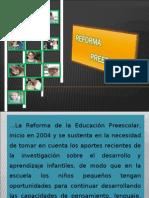 Reforma Preescolar