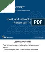 10 - Aplikasi Multimedia - Kios Informasi Dan CD Interaktif