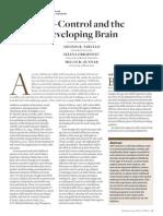 Tarullo, Obradovic, Gunnar (2009, 0-3) Self-Control and the Developing Brain