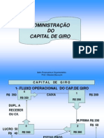 ADM.DO CAP. DE GIRO