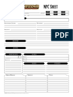 Pathfinder Eidolon Character Sheet | Role Playing Games | Tabletop Games