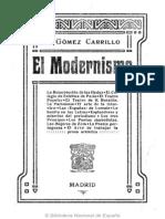 El Modernismo_Gomez Carrillo