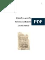 Evangelhos Apócrifos - Testamento de Benjamim