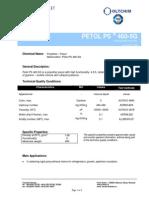 Petol PS 460-5G