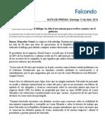 Nota de Prensa Falcondo Aclaratoria 13042014