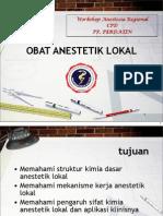 5 Obat Anestetik Lokal Cpd 2012