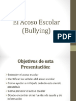 El Acoso Escolar (Bullying) Ewdin