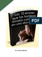 10 Errores de Los Hombres Timidos