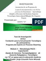 fase de investigacion Eugenio Espejo