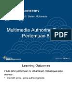 8 - Multimedia Authoring Tools