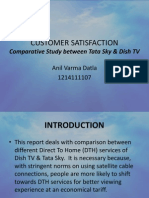 A Study on Customer Satisfaction
