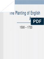 2 - The Planting of English America, 1500 - 1733