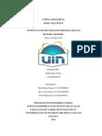 jurnal praktikum kimia analitik II metode volhard, penentuan bromida