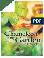 Chameleon In My Garden by Nita Nicholson