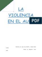 La Violencia en El Aula (TEMA)