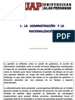 Introduccion a La Racionalizacion Administrativa