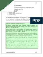 Demand Planning Configuration