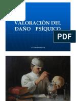 VALORACIÓN DEL DAÑO PSÍQUICO - MEDICINA FORENSE PERÚ