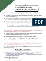 Règles générales concernant la croyance (al 'Aquida)