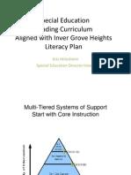 revised igh sp ed literacy continuum k-12