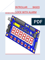 Uc Based Digital Clock With Alarm