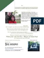 Bill Hosko Supports Eva 4 St.Paul Mayor