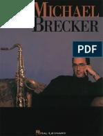 Michael Brecker - Artist Transcriptions