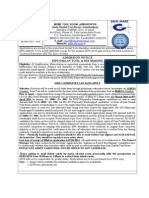 Advertisement of Dtdm