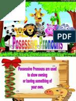 Possessive Pronouns