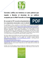 corrales histórico auto judicial para PAH Tenerife