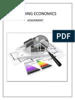 importance of building economics