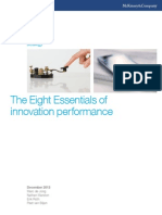 The Eight Essentials of Innovation Performance