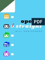 Openly Straight - Konigsberg, Bill