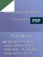 Plural Sing Nouns