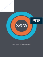Xero Limited Annual Report 2013