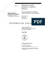 NIST Information Security Handbook