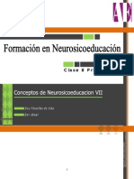 Conceptos de Neurosicoeducación VII