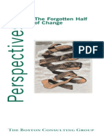 The Forgotten Half of Change - BCG Perspectives May 2005