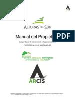 Manual de Propietario Alpes 6 Con Planos