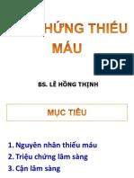 Dr Thinh - hoi chung thieu mau & THIẾU MÁU CƠ TIM