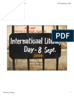 International Literacy Day 2008