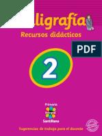 20039734 Caligrafia 2 Recursos Didacticos Primaria Integral