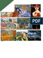 Siglo XX Pintura y Escultura