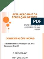 UNDIME AVALIAÇÃO NA E DA EDUCAÇÃO INFANTIL_UNDIME