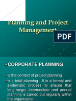 Planning AndProject Management 2