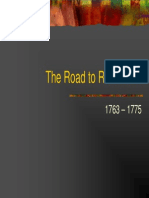 7 - The Road to Revolution, 1763 - 1775